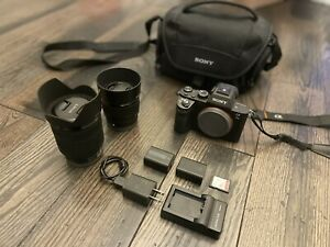 Sony Alpha A7 II 24.3MP Digital Camera With 28-70mm And 50mm Lens Bundle