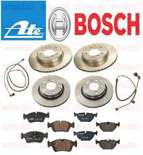 BMW Z4 3.0 Complete Brake Job Front & Rear 4-oem Ate Rotors,Bosch Pads,Sensors