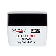 SuperNail LED/UV Builder Gel - Clear - 14g / 0.5oz - 51600 - NEW***