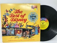 The Best Of Disney Volume Two LP Vinyl Record - Original 1978 Pressing