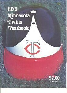 1979 Minnesota Twins MLB Baseball Yearbook J Koosman American League Roy Smalley
