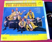 """The Astronauts  """"EVERYTHING IS A-OK!"""" 1964,  RCA Mono Pressing.  SW/NM-/VG++"""