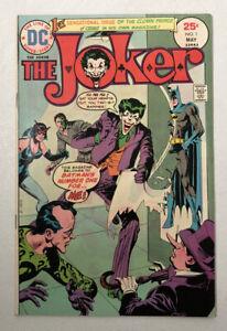 The Joker # 1 1975 DC Comics FN Own title Batman Foe 1970s Comic Bronze Age