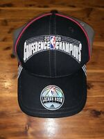 New Adidas NBA Official Locker Room 2008 Conference Champions Hat The Finals