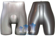His & Her Special - Inflatable Mannequin - Panty & Brief Forms, Silver