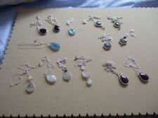 Moonstone Natural Fine Gemstone Necklaces & Pendants