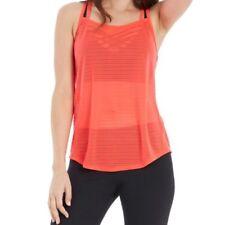 Marika Women's Activewear Mesh Tank Top Workout Shirt Poppy Small Zumba Peloton