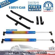 Titanium Front Hood Bonnet Gas Strut Lift For Toyota Hilux Vigo Mk6 SR5 05-14
