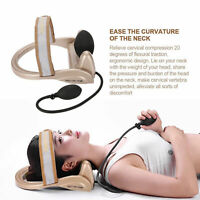 Cervical Tractor Vertebra Health Care Tool Posture Pump Neck Traction office