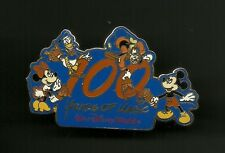 100 Years of Magic Mickey Minnie Mouse Donald Duck Splendid Walt Disney Pin