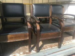 antique carver reception chairs