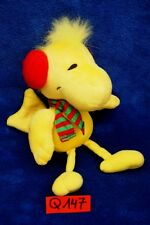 Peluche n°Q147: WOODSTOCK  (copain de Snoopy) 20 cm env. marque HALLMARK