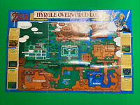The Legend of Zelda: A Link to the Past Map ONLY (SNES, Super Nintendo) *RARE*