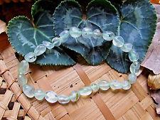 147-Bracelet prehnite perles 6/10mm-reiki-Chakra