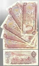 Canada Two Dollar $2 (1974) - Circulated  Bank Notes (VG)