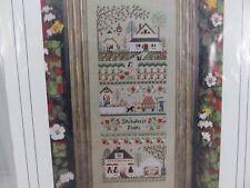 Victoria Sampler STRAWBERRY FIELDS FARM Cross Stitch Pattern +Accessory Pack NEW