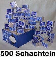 500x Streichholzschachtel Riesa Zündhölzer - 19000 Stück Streichhölzer Notvorrat