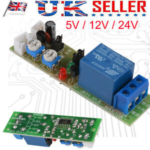 Mini 12/24V Infinite Cycle Delay Time Timer Relay Turn ON OFF Switch Loop Module