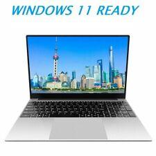 15 Zoll Notebook Laptop Intel J4125 2,0GHz 8GB+ 512GB SSD Win10 PRO Win 11 READY