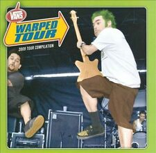 2008 Warped Tour Compilation by Various Artists (CD, Jun-2009, 2 Discs, Side...