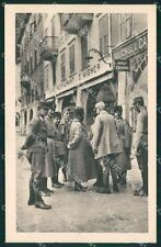 Trento Riva del Garda Militari cartolina QT4215