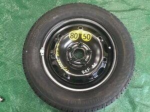 SEAT VW 2015  14 INCH SPARE WHEEL CONTINENTAL TYRE 165/70/14 UNUSED