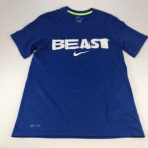 Nike Men's Blue Short Sleeve T Shirt Dri Fit Size Small