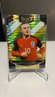 2016-17 Panini Select Terrace Multi-Color Prizm Wayne Rooney #17