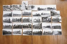 More details for locomotives train railway photos photographs x30 ref k lms gwr
