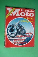 IL PILOTA MOTO 16 1973 MOTOSALONE MILANO GIORGIO GIUGIARO MOTO GUZZI 250 TS