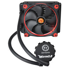 ThermalTake Pacific Water 3.0 Riing Red LED 140mm CPU Water Cooling All in One