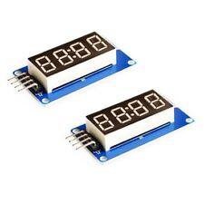 4 Bits TM1637 Digital Tube LED Display Module with Clock For Arduino RaspbeY5L8