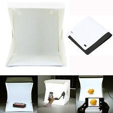 LED luce stanza studio fotografico ILLUMINAZIONE Tenda Kit sfondo Cubo Mini Box