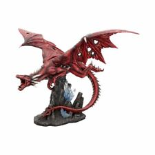 Fraener's Wrath Large Red Dragon Figurine Ornament ~ Mythical Creature Beast