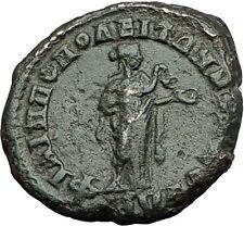 Elagabalus 218AD Philippopolis Thrace HYGEIA SERPENT Ancient Roman Coin i59408