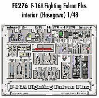 Eduard 1/48 F-16A Plus Fighting Falcon interior etch for Hasegawa # FE276