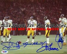 Pittsburgh Steelers Steel Curtain Signed Autographed 8x10 Photo reprint