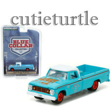 Greenlight Blue Collar 1967 Dodge D-200 Pick Up Truck 1:64 Light Blue 35060-A