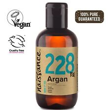 Naissance Moroccan Argan Oil 100ml - 100% Pure - Moisturiser skin and beard