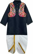 Kids Wear Dhoti Kurta Boys Pure Cotton Multi Color Good Quality Brand New