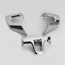 3Pcs Chrome Steering Wheel Trim Cover Parts For 09-2012 Bora Jetta Polo Golf VI