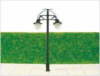 S217 - Set 10 Stück Straßenlampen nostalgisch 2-flammig 5cm