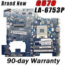 Akemy Free CPU PIWG2 LA-6753P For Lenovo G570 Motherboard HM65 DDR3 HD6300M