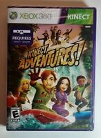 Kinect Adventures (Microsoft Xbox 360, 2010) - Brand New & Factory Sealed 👀💎