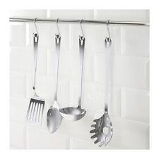 IKEA Grunka 4 Piece Kitchen Utensil Set in Stainless Steel