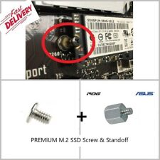 M.2 NVMe SSD STAND OFF spacer and SCREW for motherboards - Asus Acer Dell HP MSI