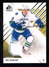 ET) 	2016-17 SP Game Used Gold #67 Bo Horvat Jersey CANUCKS