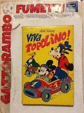"""Classici N.50 Prima Serie Anno 73 """"Viva Topolino""""Bollini- Mondadori Ottimo"""