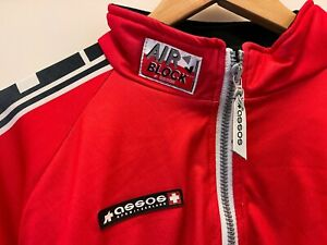 Assos Airblock Winter Jacket Size M Red