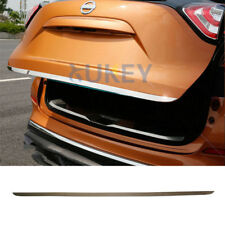 Fit For Nissan Murano 2015-2018 Chrome Rear Trunk Lid Back Door Cover Trim Strip